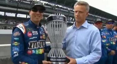 "Kyle Busch Wins ""Regular Season Title"" after Brickyard Race"