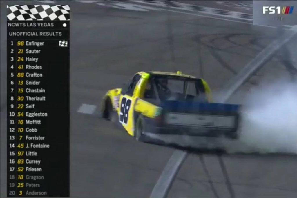 "Allgaier Wins NASCAR XFINITY ""Regular Season Title"" after Vegas Finish"
