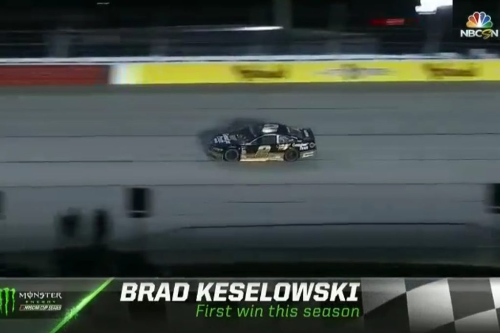 Keselowski Dominates in Darlington