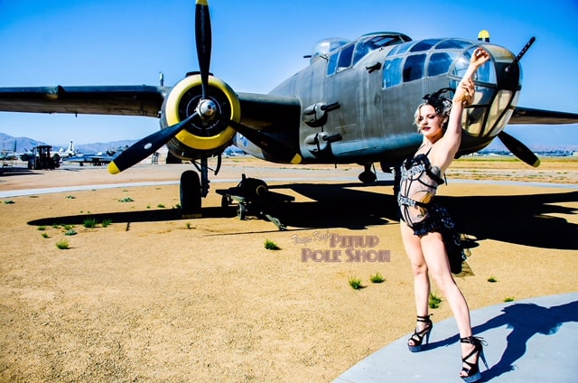 Pinup Pole Show Pinup of the Week: Brynn Route