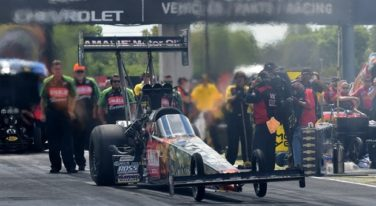Kicking Off the NHRA Countdown in Reading