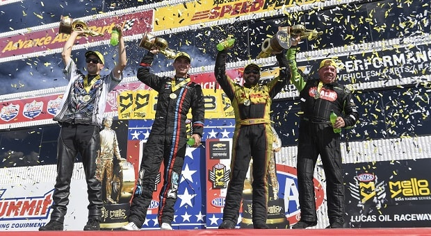 Todd, McMillan and Gray Soar at NHRA Chevrolet Performance U.S. Nationals