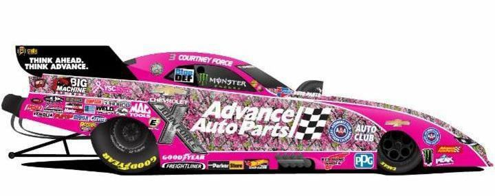 Courtney Force Needs a Storm Surge to Capture Championship