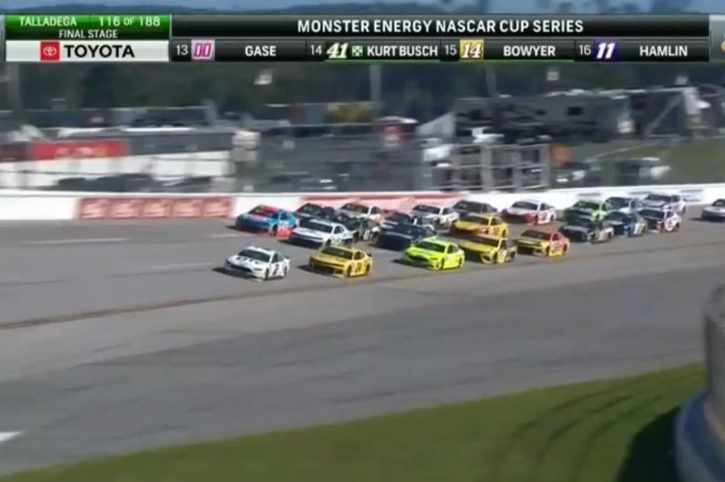 SHR Dominates Cup Race at Talladega