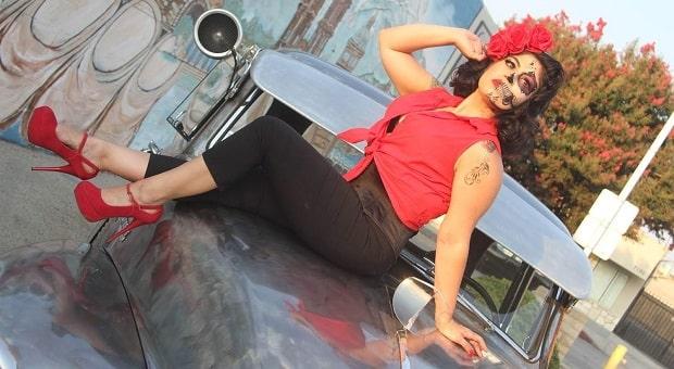 Mitzi's Pinup Corner: Miss Goleta Lemon Festival, DeeDee Cupcake