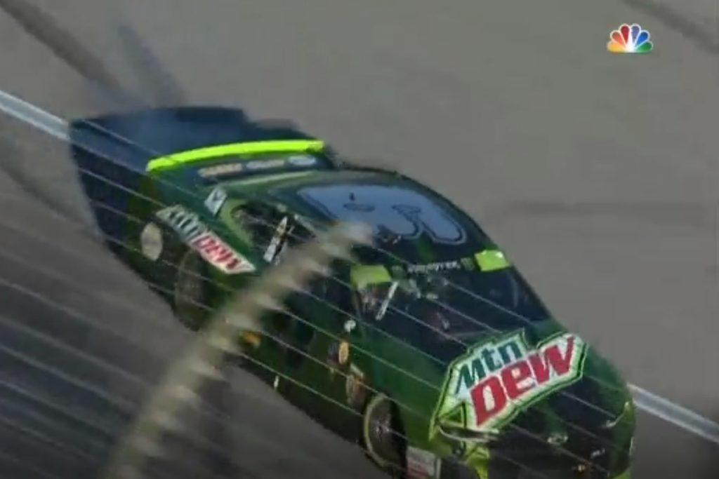 NASCAR Xfinity Unable to Go Green in Kansas