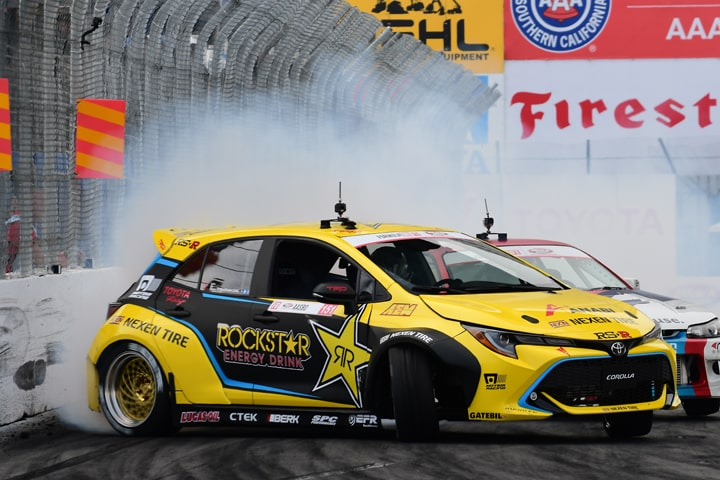 Toyota Nails Fifth Straight Formula DRIFT Manufacturer's Title