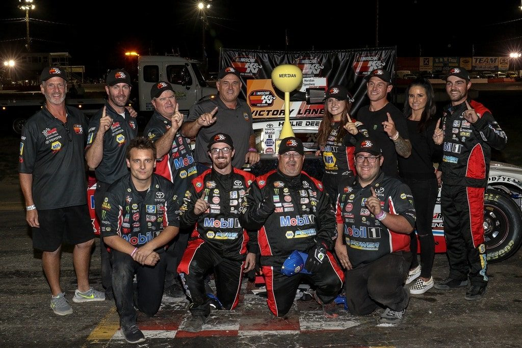 Hailie Deegan Makes NASCAR K&N Series History