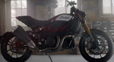 Meet Indian's New Street-Capable Flat Track Racing Bike