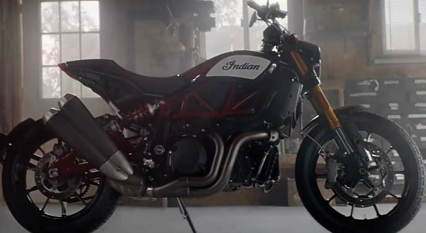 Meet Indian's New Street-Capable Flat Track Racing Bike