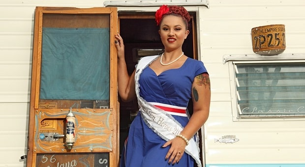 Mitzi Valenzuela's Pinup Corner: Miss Nikki La Rouge