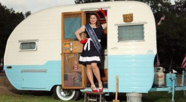 Mitzi Valenzuela's Pinup Corner: Miss Hometown Heroes Noir Hart