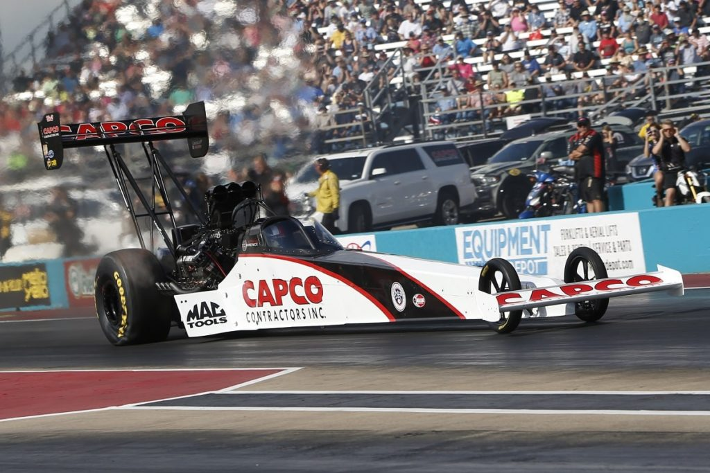 NHRA Point Leaders Prevail at AAA Texas NHRA Fall Nationals