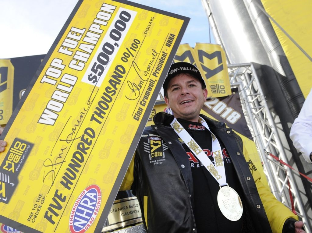 Steve Torrence Earns Championship at Las Vegas Motor Speedway