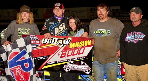 """Terbo"" Tyler Erb Wins Big During Outlaw Invasion Weekend"