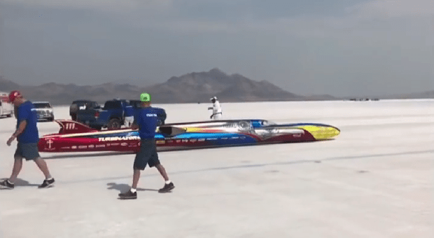 Team Vesco Hits 500 MPH at Bonneville