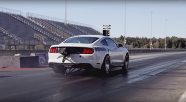 [Video] 50th Anniversary Cobra Jet Mustang Flexes at SEMA