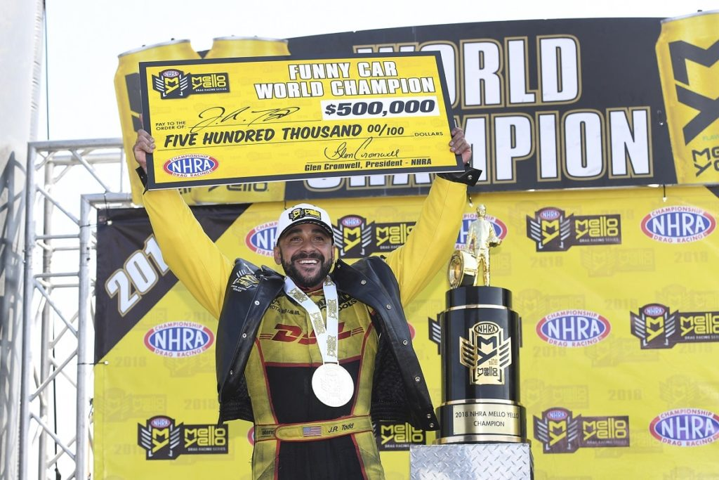 Newest NHRA World Champions Crowned at  2018 Mello Yello Auto Club Finals