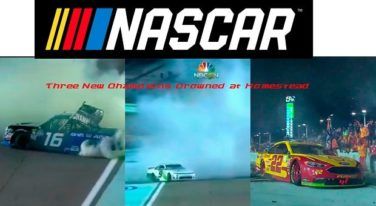 Moffitt, Reddick and Logano End 2018 NASCAR Season as Champs