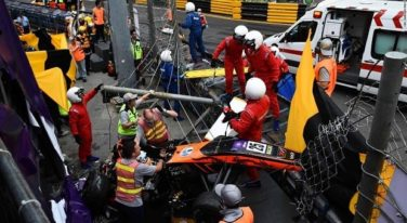 Young Driver Survives Horrific Crash at Macau Grand Prix