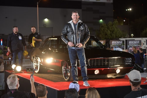Tucker Wins SEMA 2018 Battle of the Builders