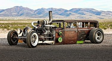 rat rod, 12 cars of christmas, dodge, mopar, tommy parry