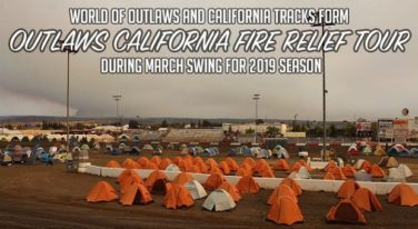World of Outlaws Announces California Fire Relief Tour