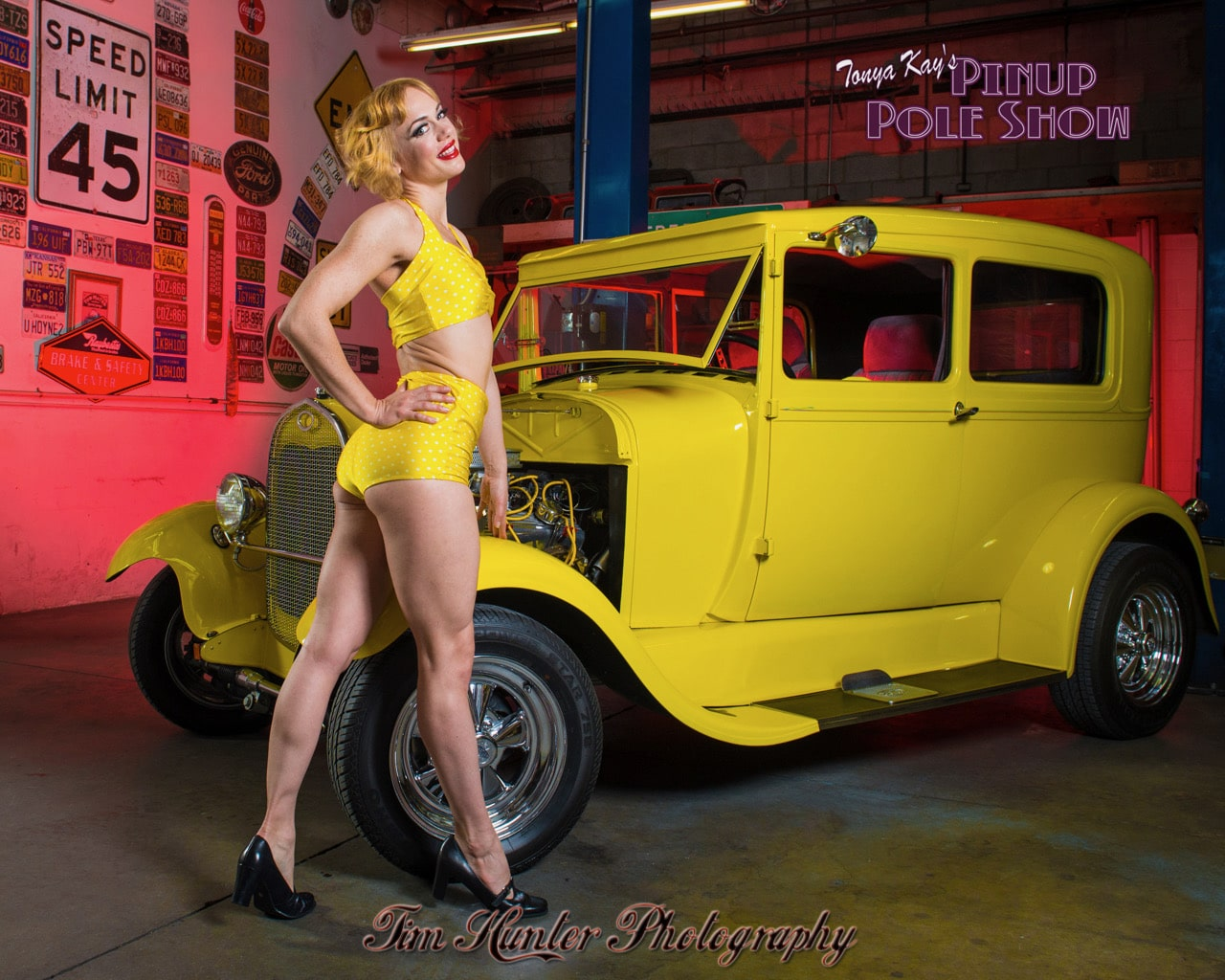 Pinup Pole Show Pinup of the Week: Tonya Kay with Tweety