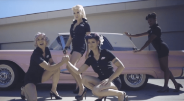 Behind the Scenes of the Ultimate Car Show and Pinup Collaboration