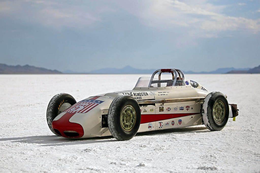 '57 A.J. Watson Indy Roadster Re-Creation on the Docket at Barrett-Jackson Scottsdale