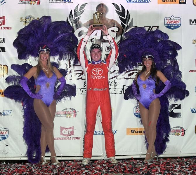 Christopher Bell Back in Victory Lane at Lucas Oil Chili Bowl Nationals