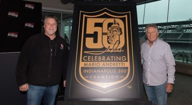 Mario Andretti Celebrates 50 Years Since Indy 500 Win