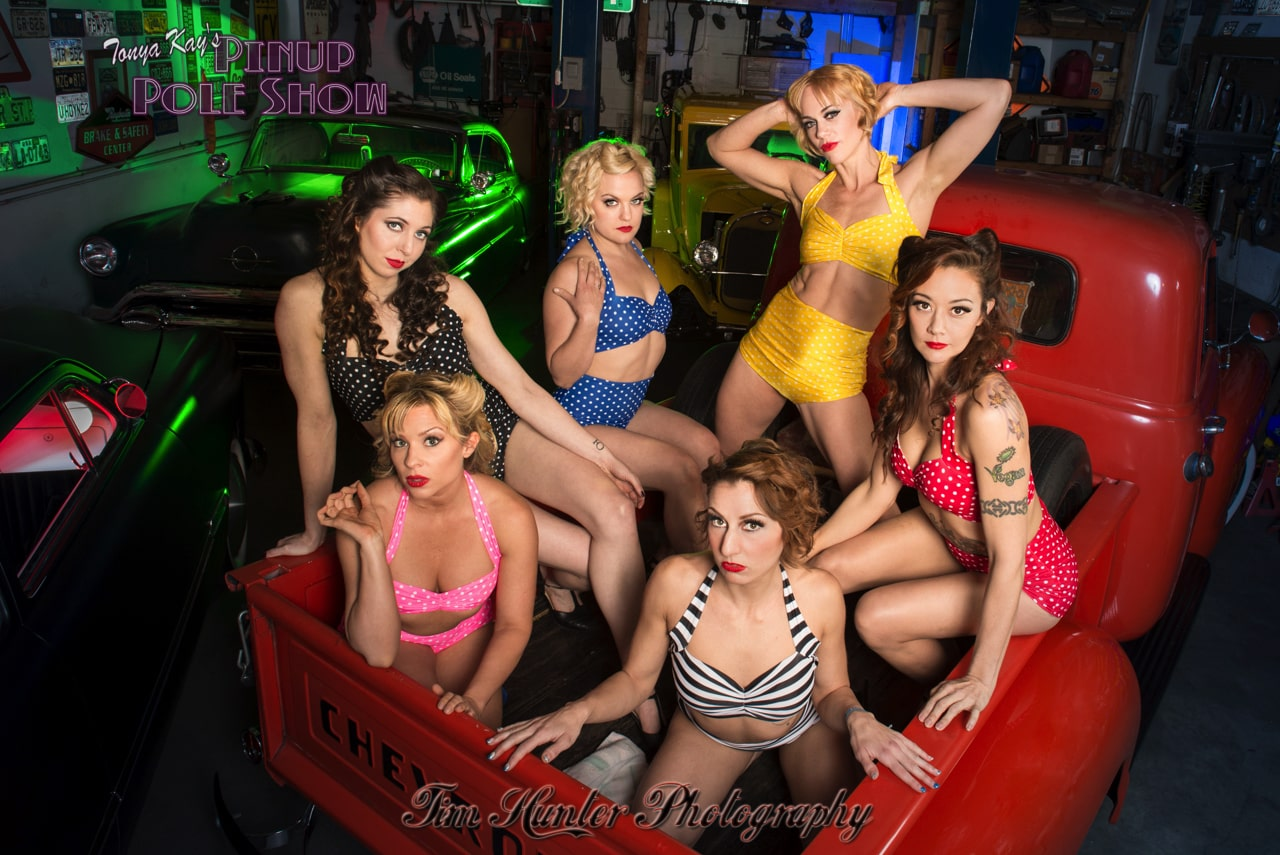 Pinup Pole Show Pinup of the Week: Celebration for Tara Phillips