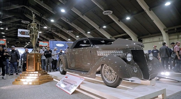 """1936 Ford """"3 Penny Roadster"""" Named America's Most Beautiful Roadster"""