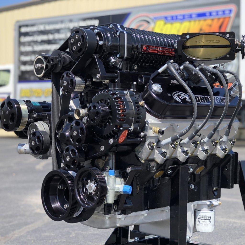 1,275 hp, 4.5L Whipple Supercharged LS, Pump Gas Cruiser