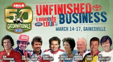 "NHRA Fans Decide Matchups for ""Unfinished Business"" Competition"