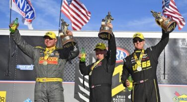Torrence, Hagan and Coughlin Show Legendary Speed at Arizona Nationals
