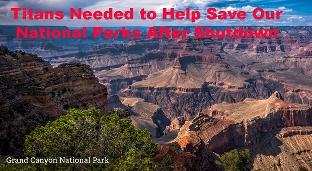 Nissan and National Parks Foundation Calling All Titans