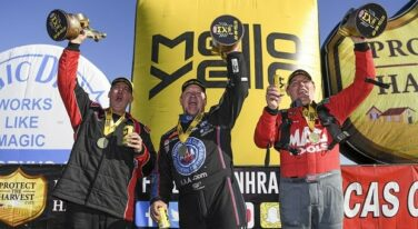 Kalitta and Butner Claim Back to Back Victories at Lucas Oil NHRA Winternationals