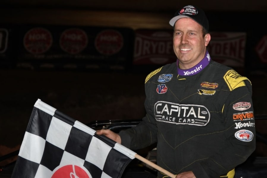 Overton and Clanton Dominate 2019 World of Outlaws Winter Freeze IX