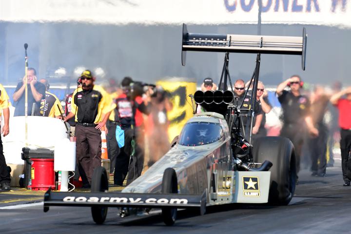 Tony Schumacher Sits Out Pomona 2