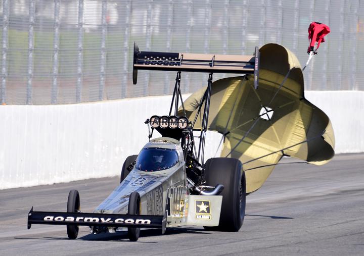 Tony Schumacher Sits Out Pomona 3