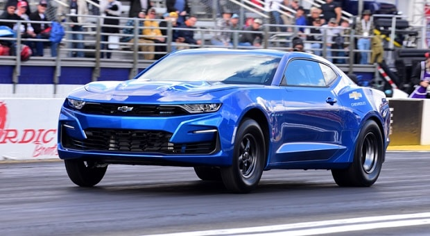 eCOPO Camaro Takes on Pomona