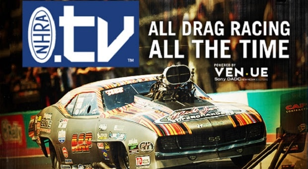 NHRA Launches New Online Video and Live-Streaming Service
