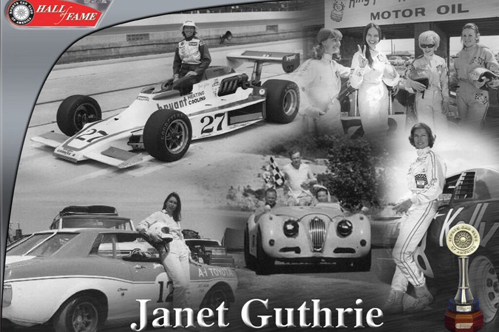 Janet Guthrie to be Inducted into Automotive Hall of Fame