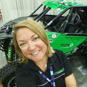 Cora Jokinen TORQ Locker Jeep