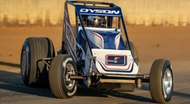 Versatile Chris Dyson Going Silver Crown Racing