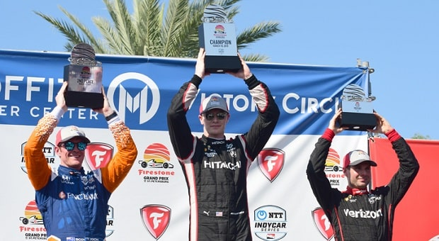 Newgarden Claims Win in NTT IndyCar Series Season Opener
