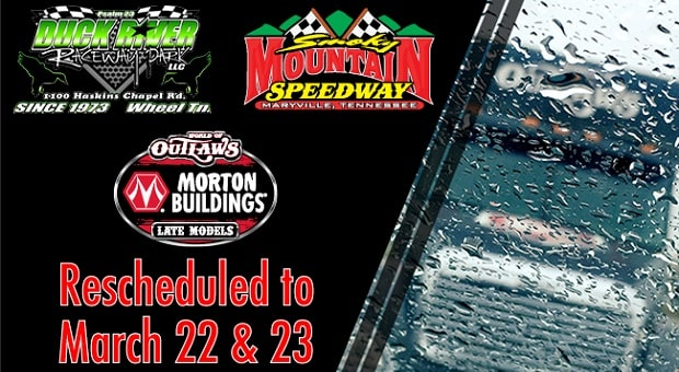 World of Outlaws Two-Step Tour Postponed