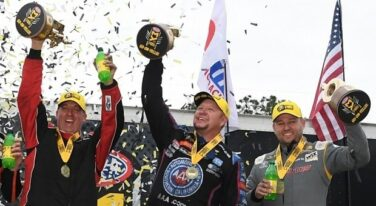 Crampton, Hight and Butner Earn Historic Wins at 50th NHRA Gatornationals